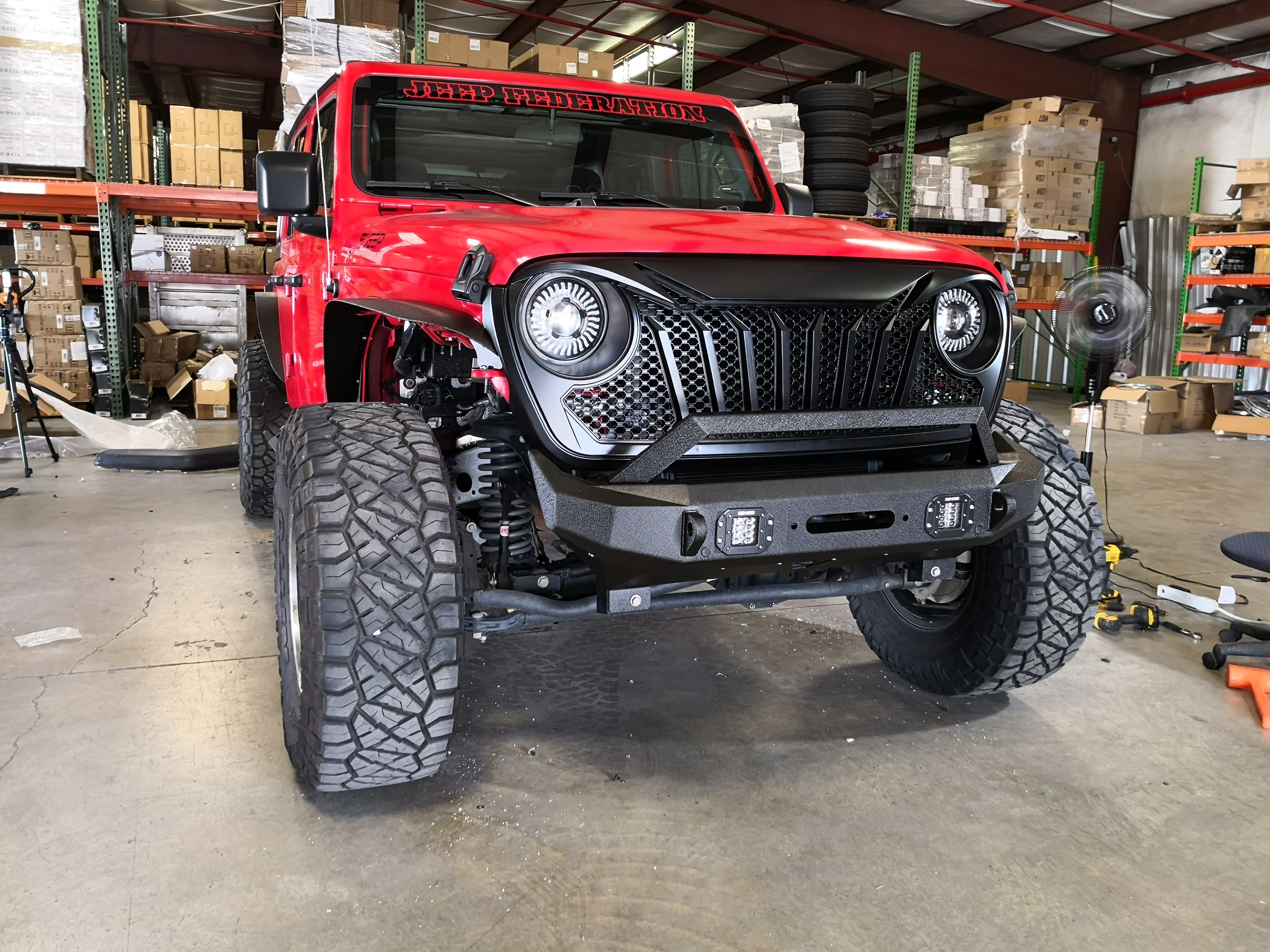 Steel Flat Top Metal Fenders For Wrangler Jl Jlu 2018 Wrangler