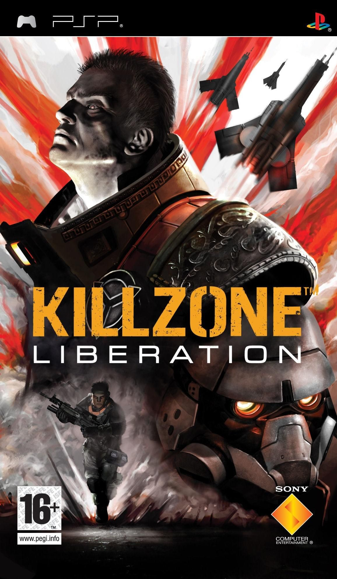 Killzone Liberation Box Shot For Psp Gamefaqs Playstation Portable Video Games Pc Playstation