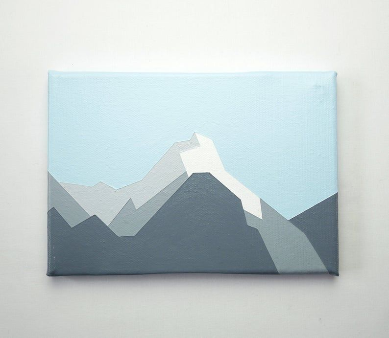 Milford Sound New Zealand Original Painting Acrylic On Canvas