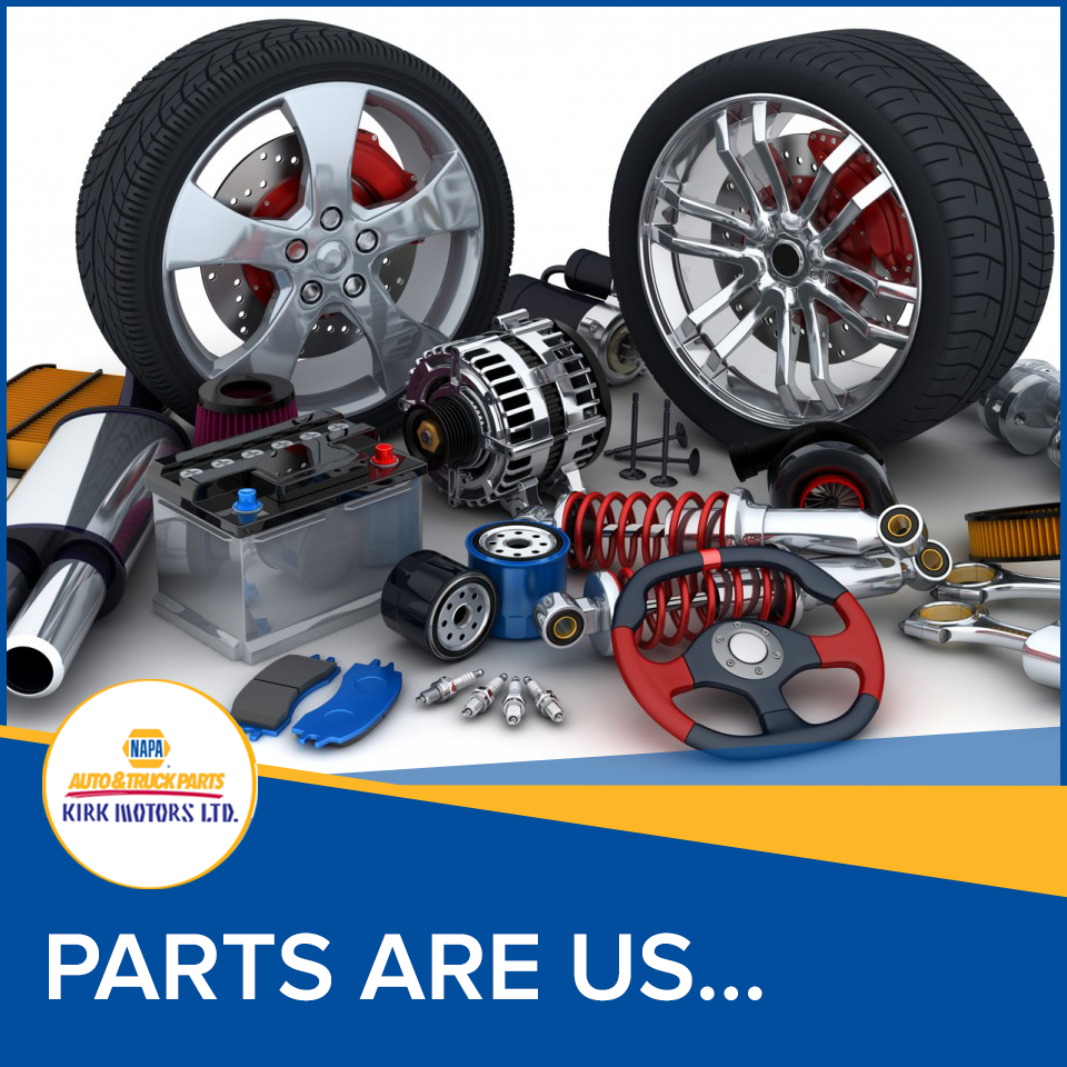 Parts are us… at Napa, Countryside and Town stores