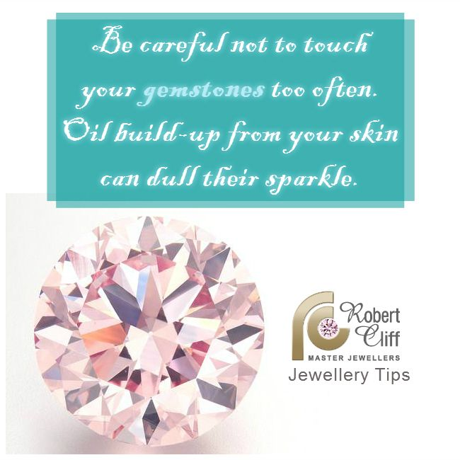 A #jewellerytip worth noting if you like to keep #jewellery with #preciousgems #sparkling!!
