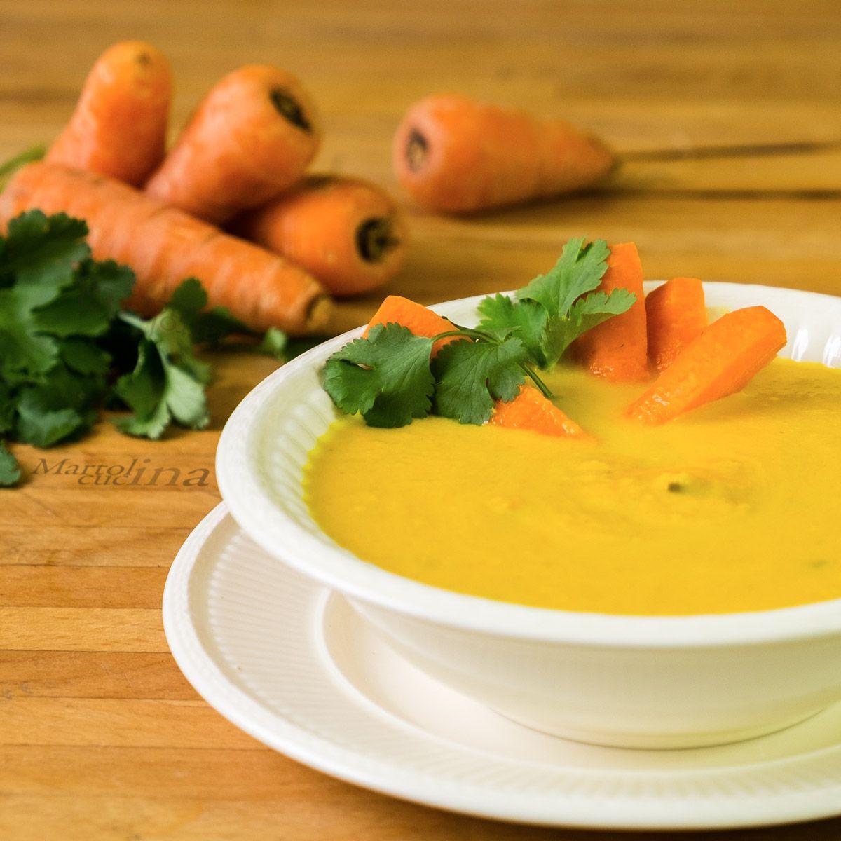 Crema di carote e coriandolo (con immagini) Ricette