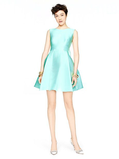 bb79d9d4a54 open back silk mini dress - Kate Spade New York