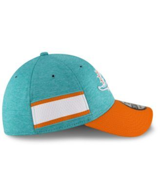 c045a2bff New Era Miami Dolphins On Field Sideline Home 39THIRTY Cap - Blue L ...