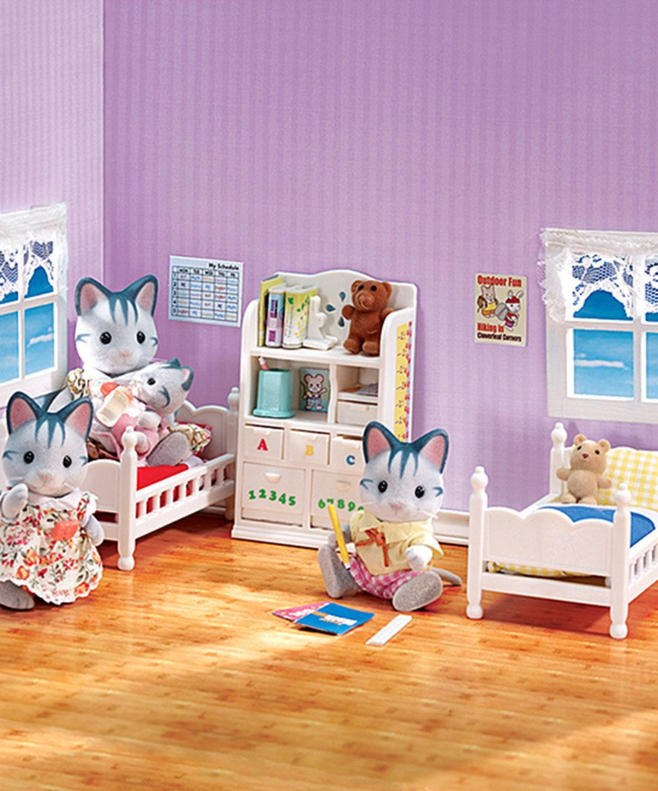 Epoch Sylvanian Families Calico Critters Room Set Baby Furniture Set 8 |  Calico Critters Bedrooms | Pinterest | Baby Furniture Sets, Sylvanian  Families Andu2026
