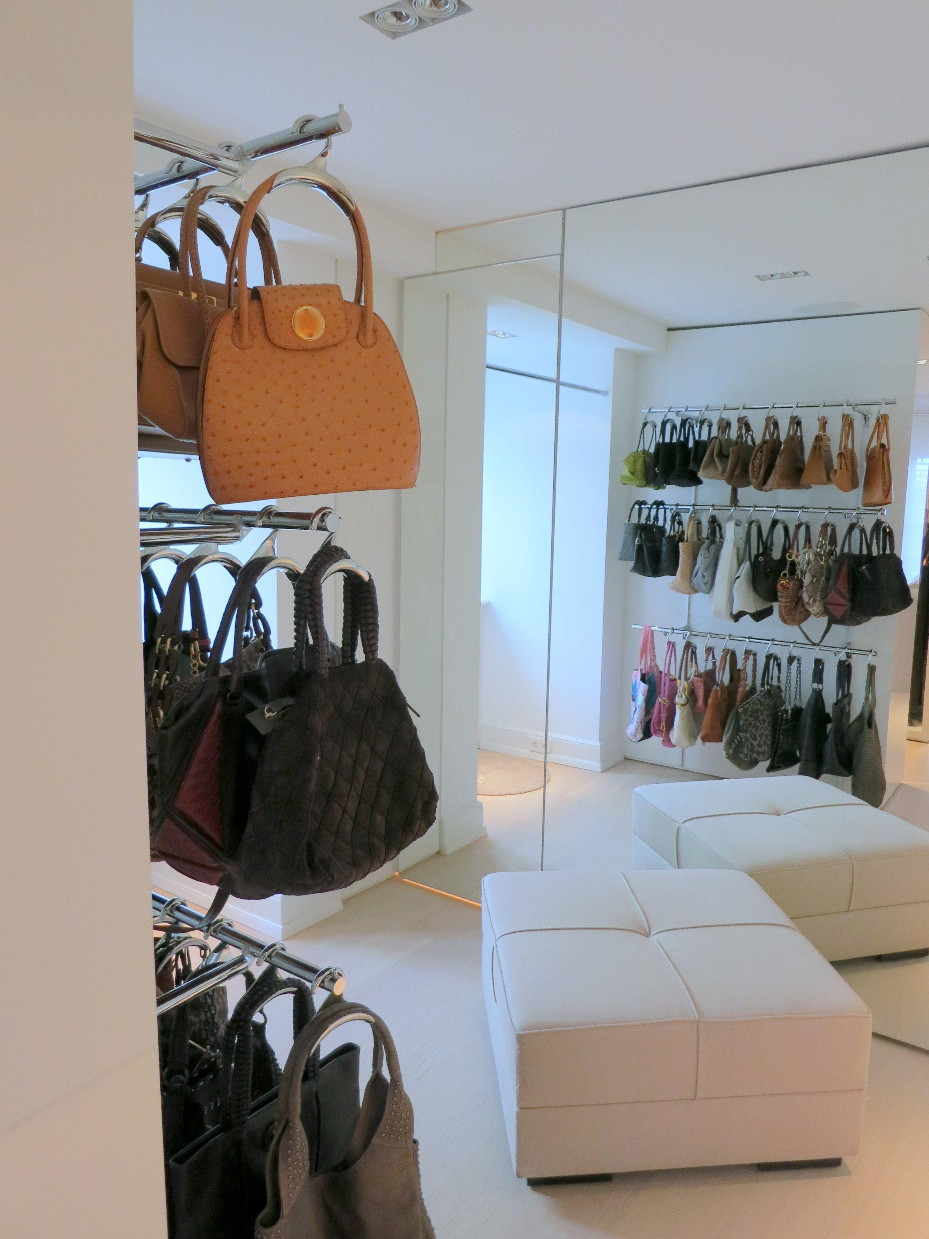 Handtaschen Aufbewahrung Dekorativ Und Praktisch Handtaschen