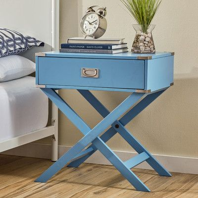 Mercury Row Alya Campaign End Table U0026 Reviews | Wayfair