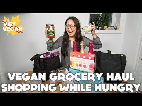 Temporär Monomani: Vegan Grocery Haul After Shopping While Hungry wit...