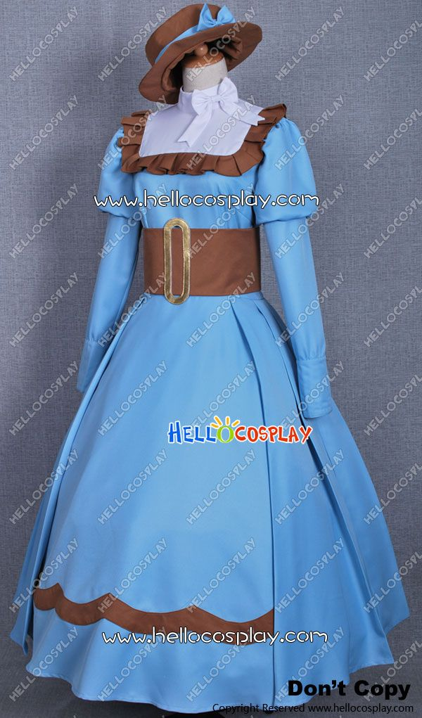 Black Butler Cosplay Elizabeth Middleford Blaue Kleid