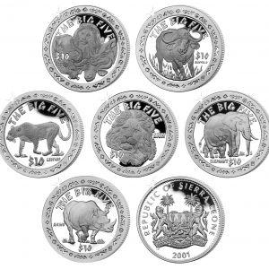 Good Luck Sierra Leone Coin  Dollar 2001