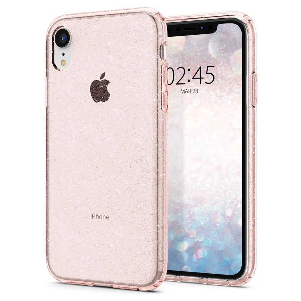 Iphone Xr Case Liquid Crystal Glitter Crystal Quartz In Stock