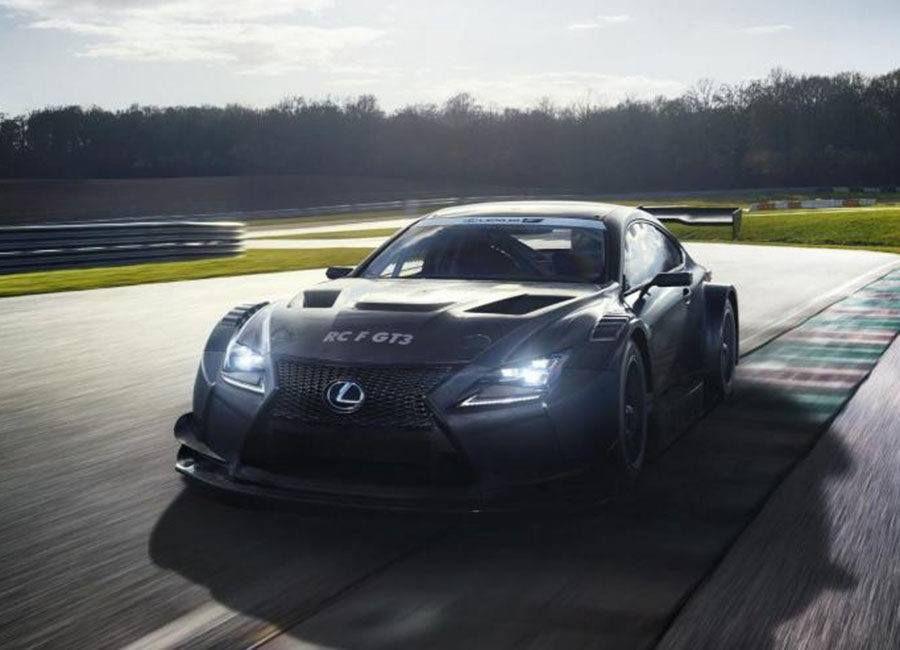 Lexus RC F GT3 // Deseos a 300 km/h. Te enseñamos los Superdeportivos de Ginebra 2017.