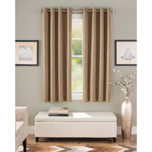Better Homes And Gardens Crushed Room Darkening Curtain Panel