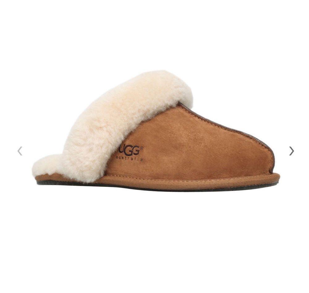 Ugg Scuffette Ii Sheepskin Slippers Brown Ebay Ugg Scuffette Ugg Scuffette Ii Uggs