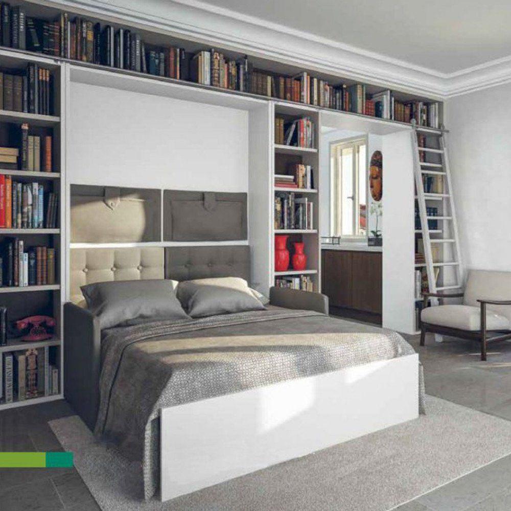 Placard Avec Lit Integre armoire lit à ouverture assistée traccia canapé intégré