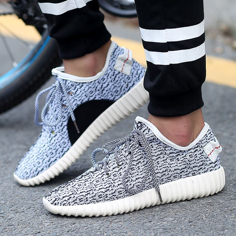 1d1a2ff191c Low Solid Yeezy 350 Boots Mens 2015 New Kanye West Lace-Up and Slip-on  Sport Velcro Shoes 5 Colours Yeezy 350 Men Flats Sneakers
