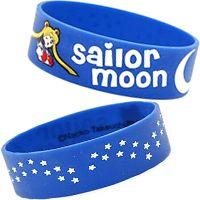 Sailor Moon Blue Rubber Wristband