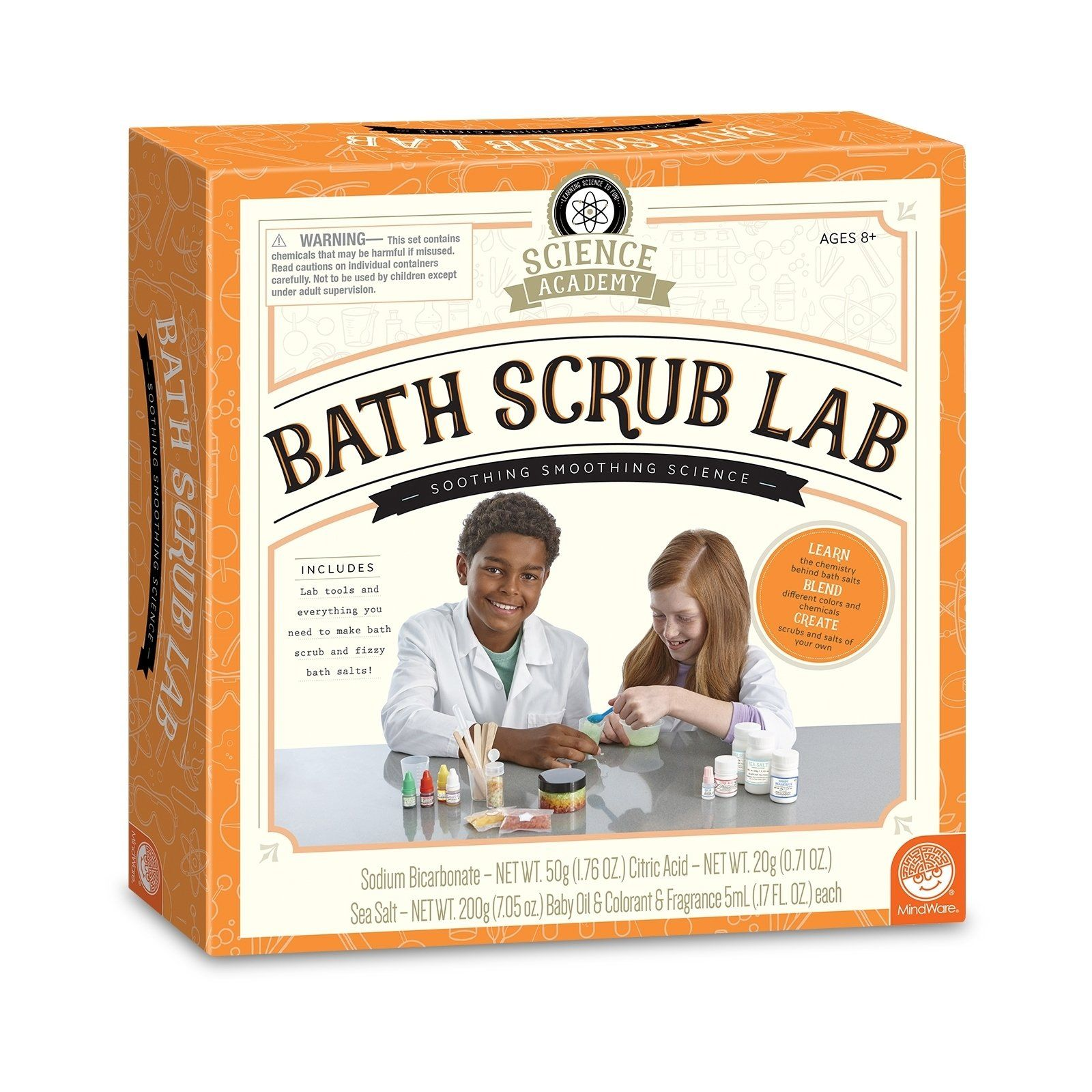 MindWare Bath Bomb Lab Science Learning Create Your Own Bath Bombs