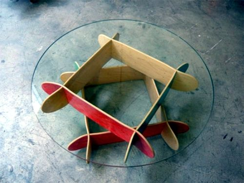 ideas for upcycled furniture design - skateboard parts | surfhost, Attraktive mobel