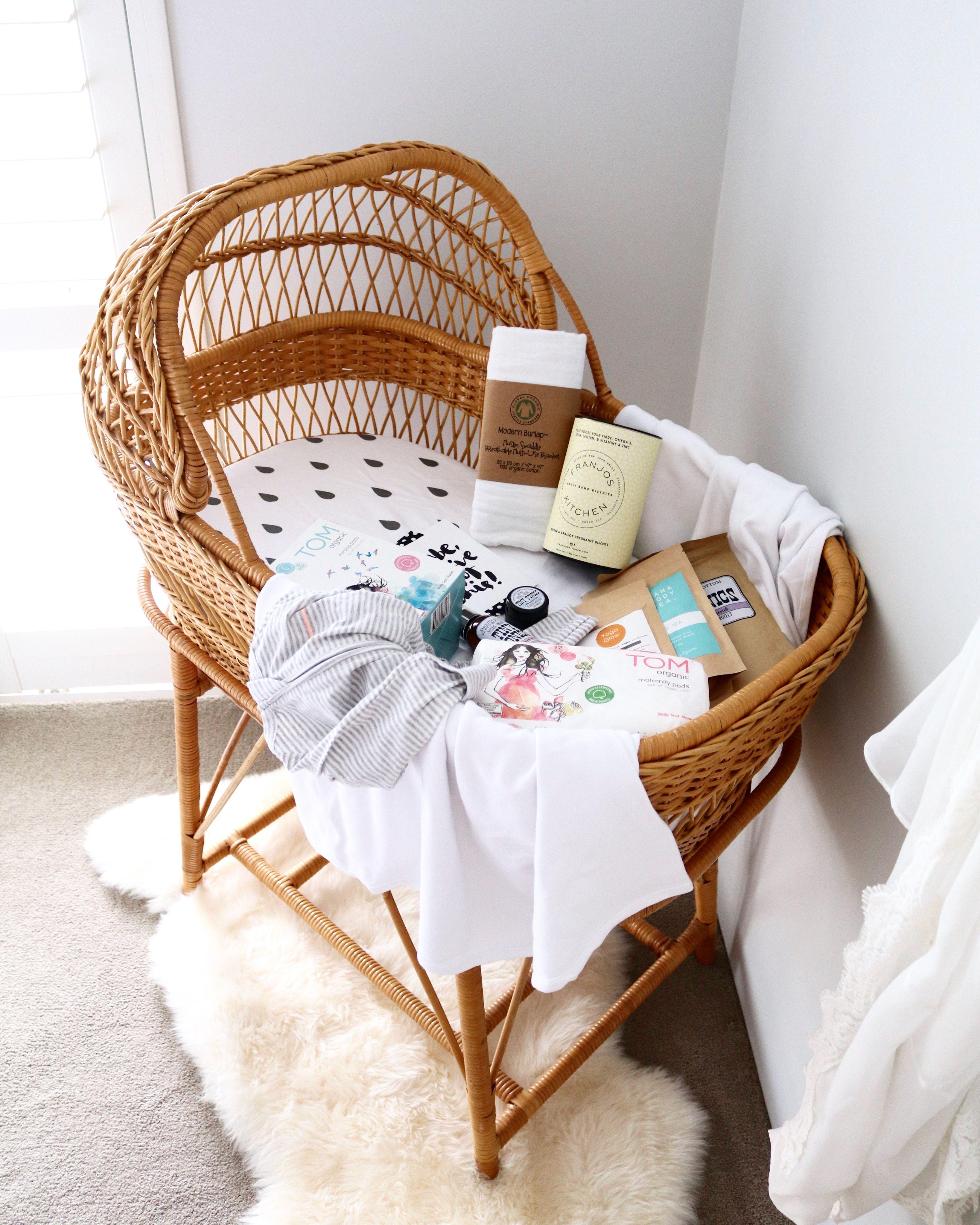 Baby cribs nashville tn - Vintage Cane Baby Bassinet