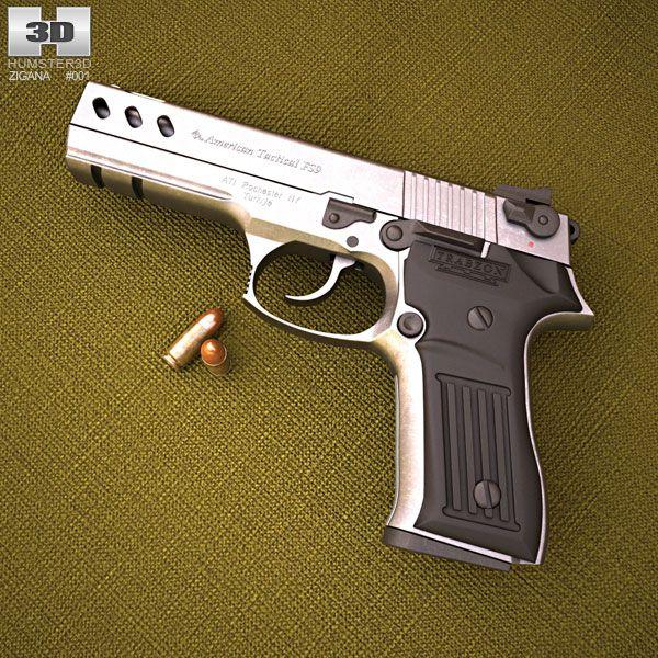 3d Model Of Tisas Zigana Sport Model Hand Guns Sports