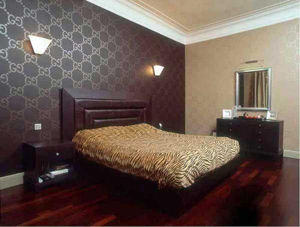 Дизайн стен в гостиной свое фото