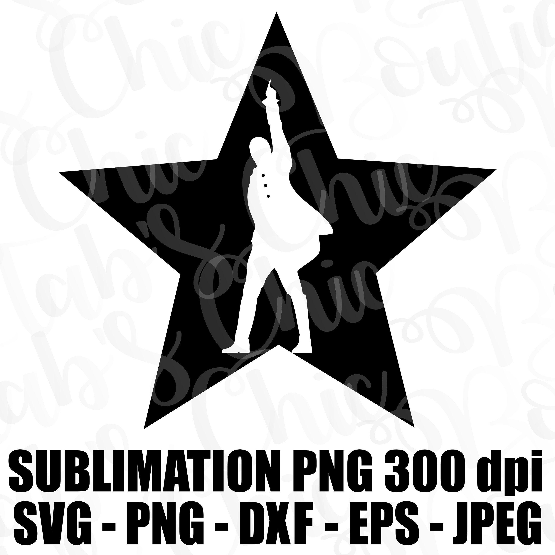Hamilton Inside Star An American Musical Svg Jpeg Png Eps Dxf Etsy Svg Hamilton Wallpaper Hamilton