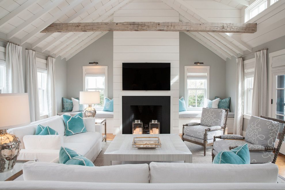 Living Room Layout: Nantucket Interior Designer Carolyn Thayer And Her  Mobile Design Center.