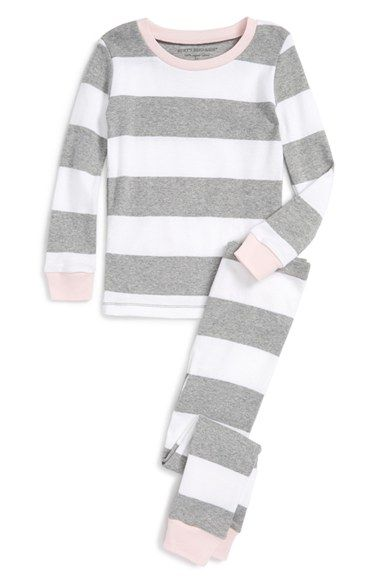 4c4df09b9 Burt s Bees Baby Fitted Two-Piece Organic Cotton Pajamas (Toddler ...