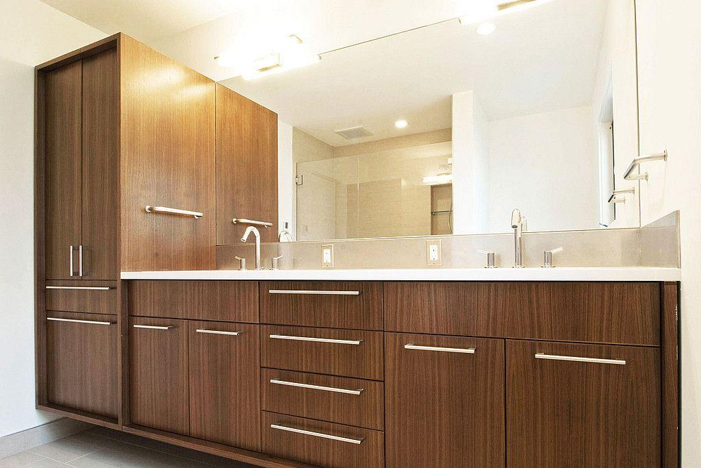 Best Mcm Bath Modern Bathroom Cabinets Mid Century Modern 400 x 300