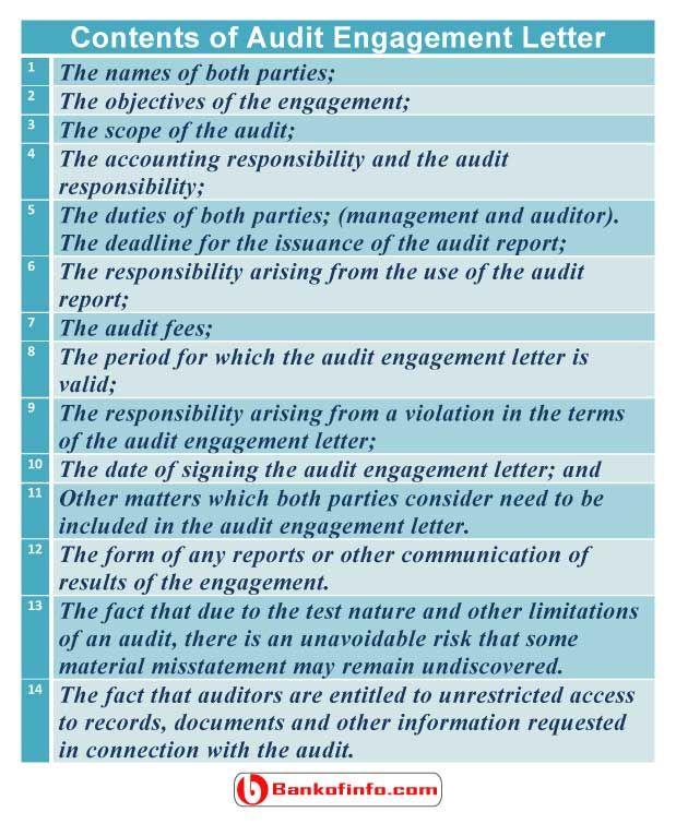 Sample Audit Engagement Letter from i.pinimg.com