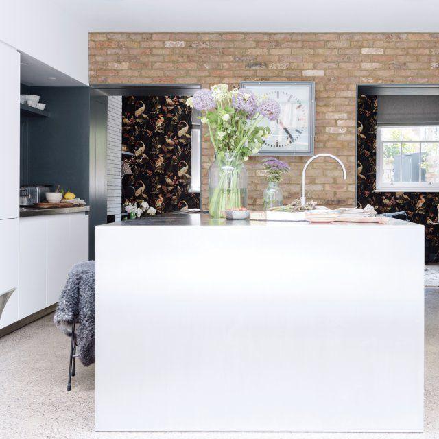 Une maison londonienne qui mixe les styles Cuisine, Cuisine design
