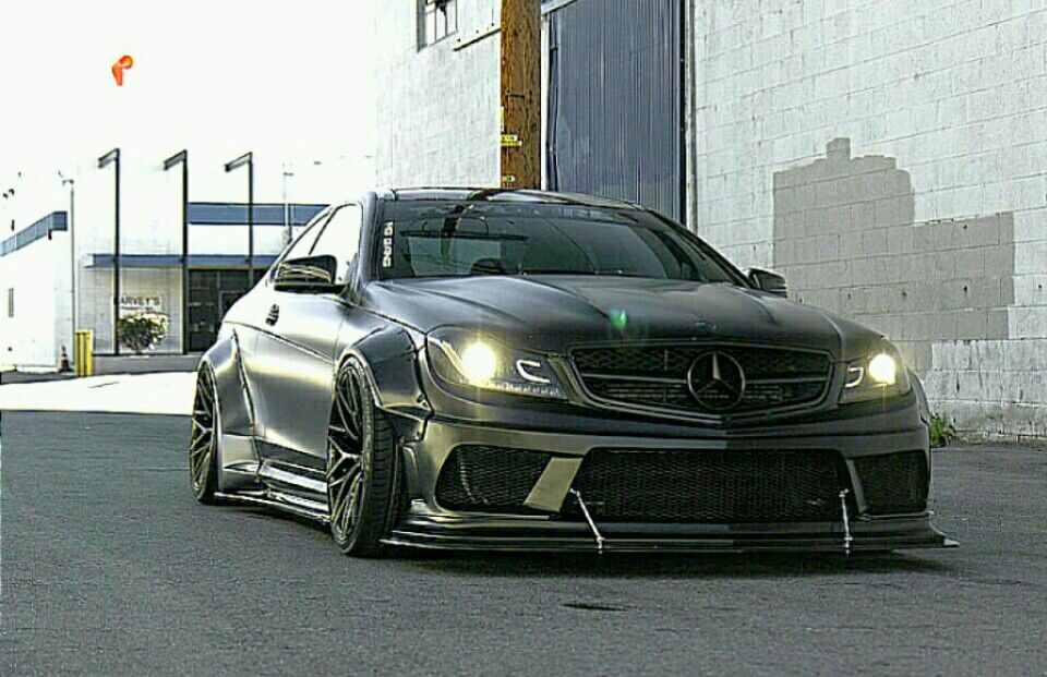 Mercedes C63 AMG by Liberty Walk | A+MOD & JDM (E) | Mercedes c63