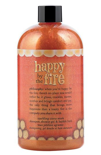 Philosophy Happy By The Fire Shampoo Shower Gel Bubble Bath Nordstrom Exclusive Nordstrom Shower Gel Bath And Body Care Philosophy Beauty