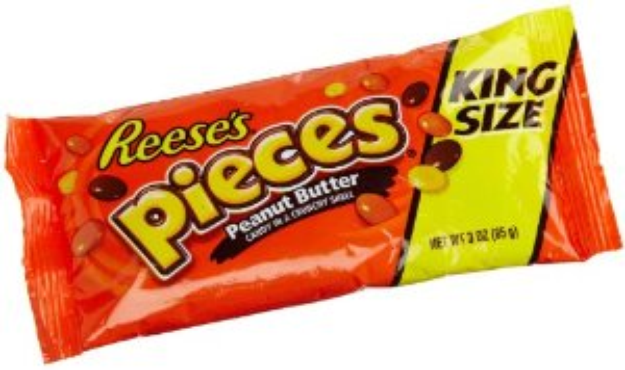 I'm learning all about Reese's Pieces Peanut Butter Candies King Size Packages at @Influenster! @ReesesPBCups