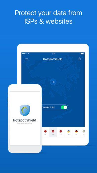 HotspotShield VPN Unlimited Privacy Security Proxy by