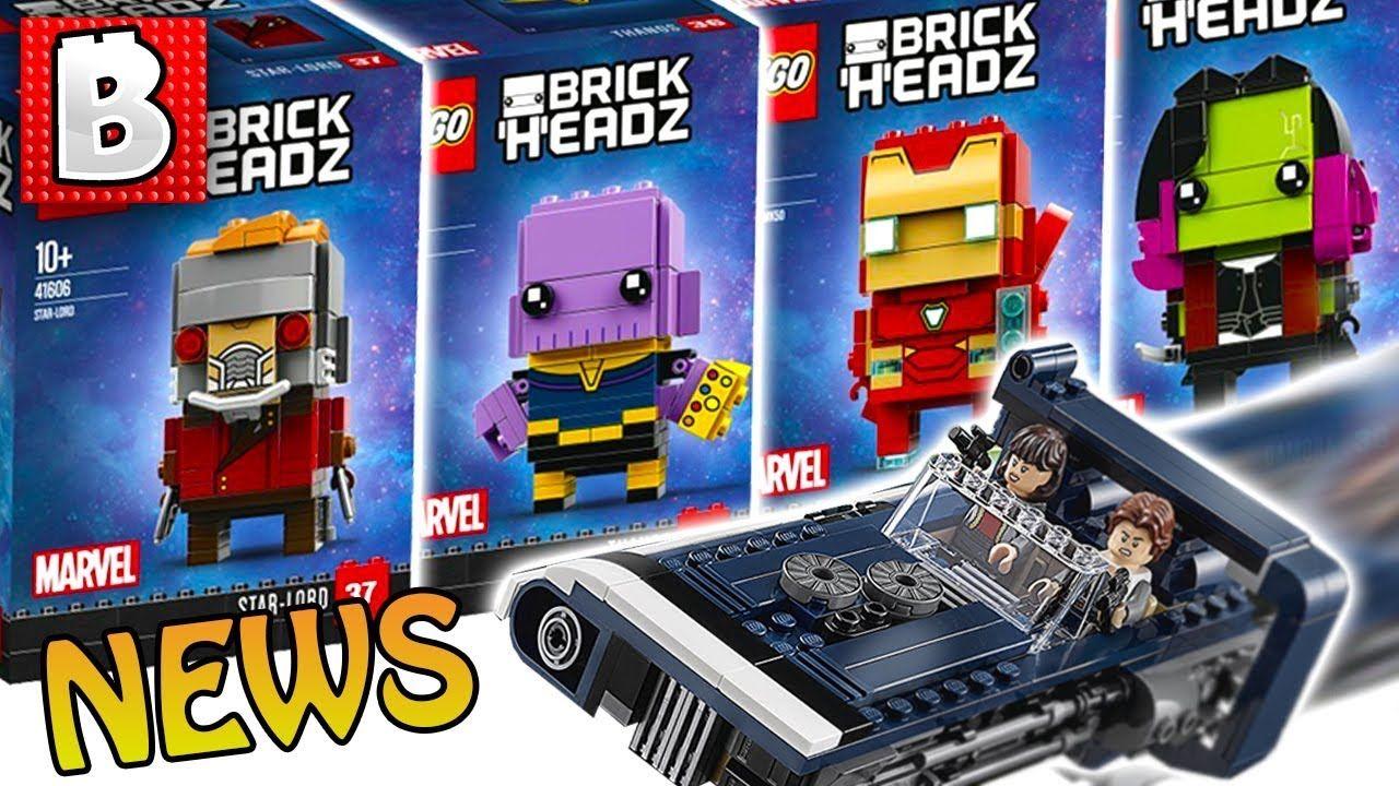 Lego Infinity War Brickheadz Star Wars Solo Official Images 75186 Starwars The Arrowhead Weekly