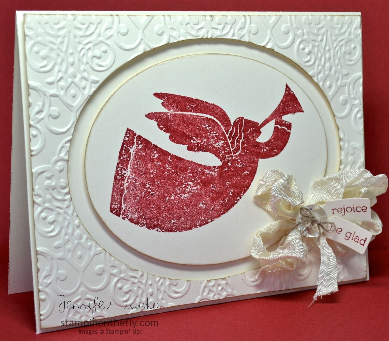Sa color refresh hop angel stampin up only pinterest angel