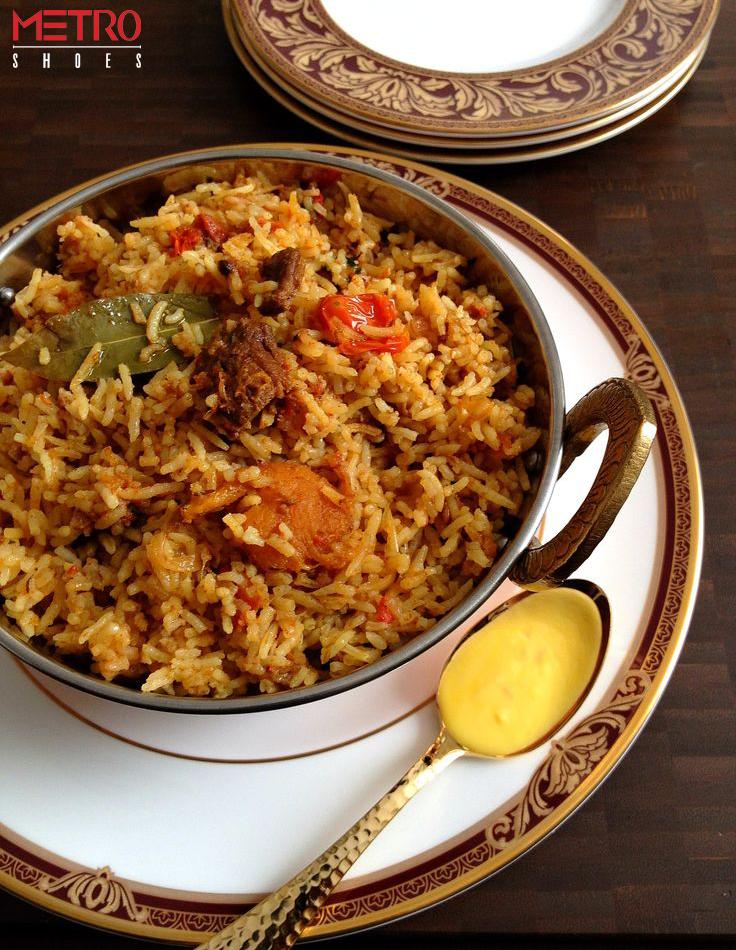 38548565cf7e Biryani  A dish synonymous with Eid celebrations. Derived from the Persian  word  biriyan