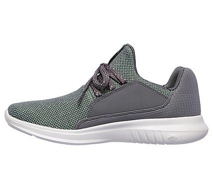 820d968c4ad2 Skechers Women s GOrun Mojo Verve Slip On Jogger Shoes (Charcoal Green)