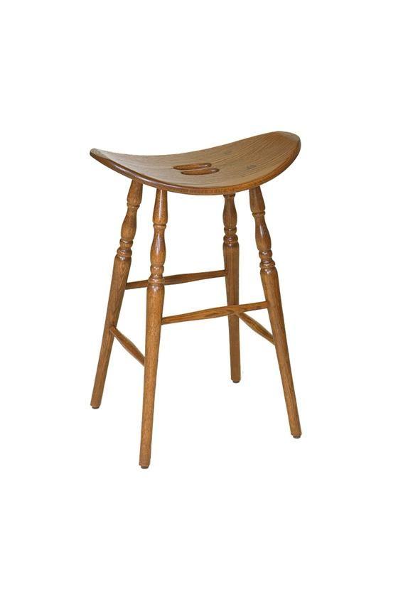 Amish American Saddle Barstool Bar Stools Saddle Seat Bar Stool Amish Furniture