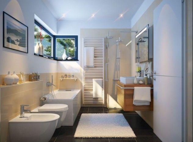 15 Elegant Bathroom Designs That Combine White And Wood  Top Simple Top Bathroom Designs 2018