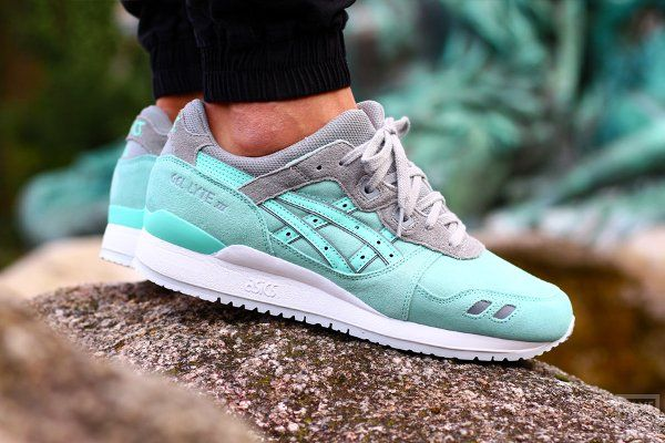 Asics Gel Lyte III Calzado light mint DulVjNPVoq