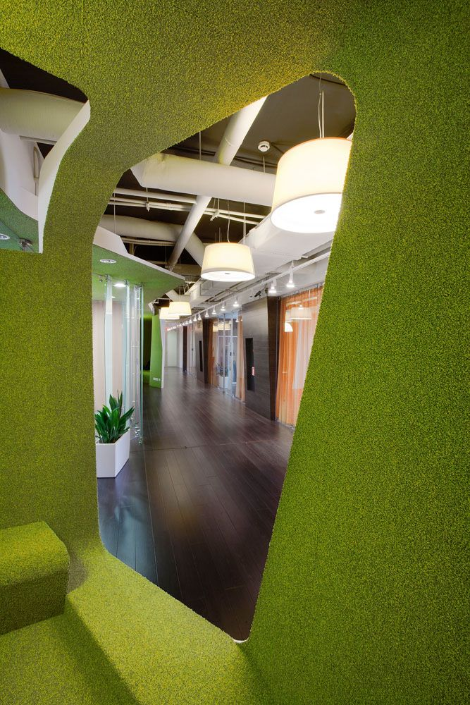 Yandex Office By Za Bor Architects, Kazan Russia Office Healthcare