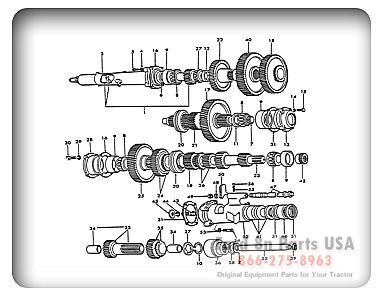 ford 8n 07a02 4 speed transmission tractors for sale ford fuel line diagrams ford naa transmission diagram #5