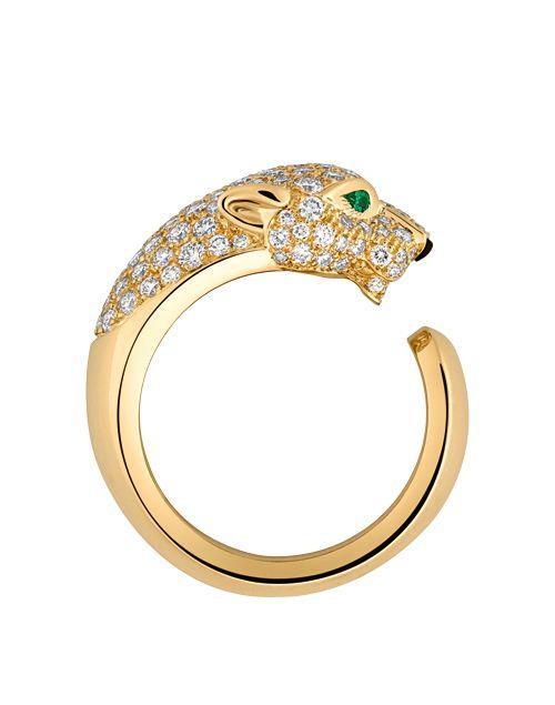 bajo precio a3a71 1d1f2 Anillo de oro y esmeralda (Cartier). | Anillos | Anillos de ...
