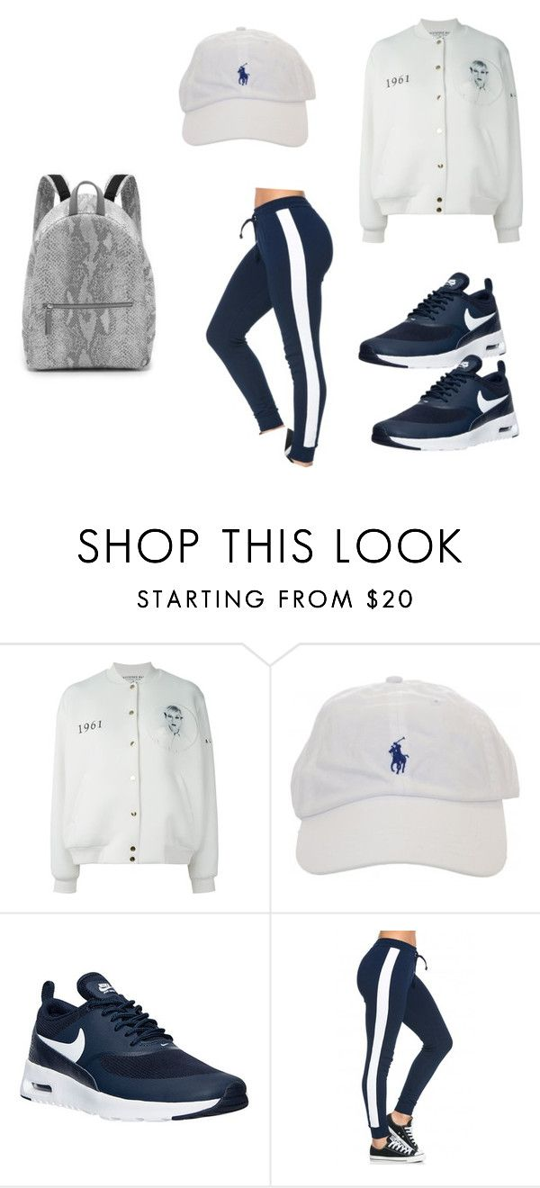 """yourmajesty x '61"" by yourmajestyjordine ❤ liked on Polyvore featuring Ports 1961, NIKE, Maison Margiela, women's clothing, women's fashion, women, female, woman, misses and juniors"