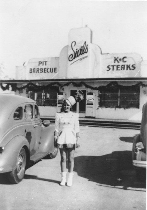 Sivil S Drive In Car Hop Late 1940 S Dallas Houston Texas