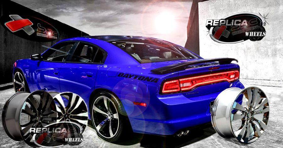 Bmc Extreme Customs Replica Wheels Dodge Charger Srt8 Replica Black Wheels 22 Dodge Charger Dodge Charger Srt8 Charger Srt8