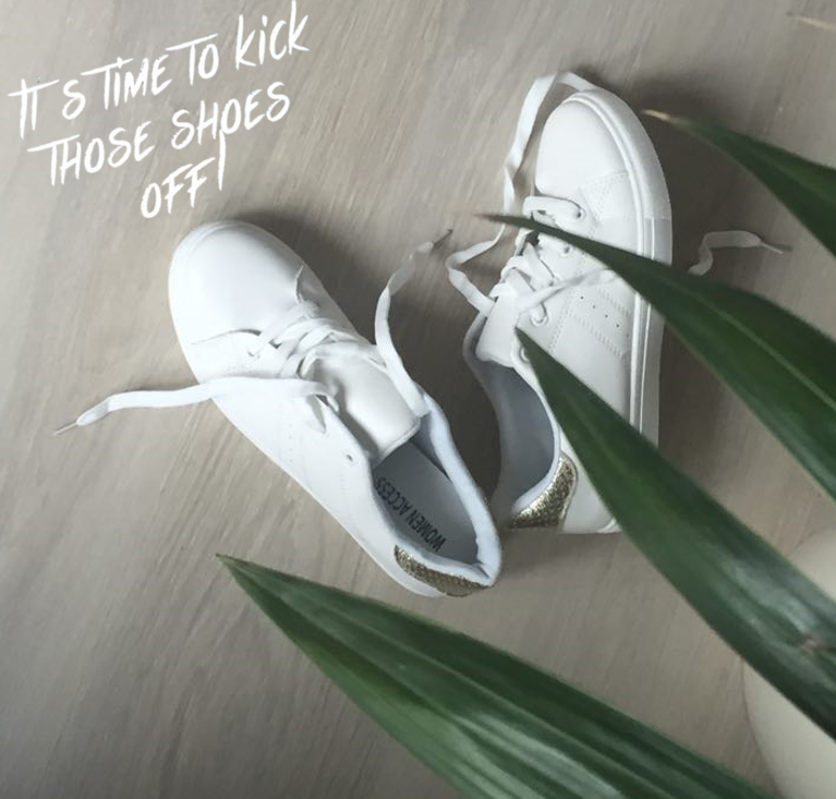 Kick off your shoes!